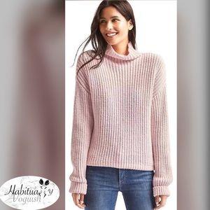 GAP Shaker funnel pullover sweater sz S